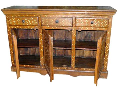 Indian Sideboard Furniture by Bone Inlay Antique Furniture Sideboard Buffets Cabinet