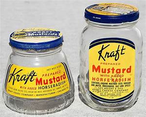 kraft prepared mustard with added horseradish
