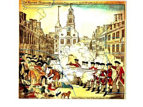 Boston Massacre by Propaganda In The Boston Massacre Youtube