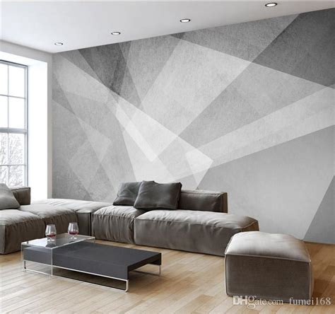 Abstract Wallpaper Room by 3d Novelty Geometric Designs Abstract Wallpapers Mural For