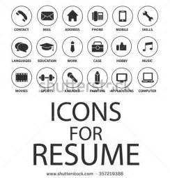 resume icon stock images royalty free images vectors