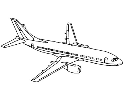 airline aircraft drawings amd coloring sheets boeing