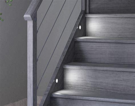 kit led pour escalier kit 233 clairage escalier 8 spots led vita confort