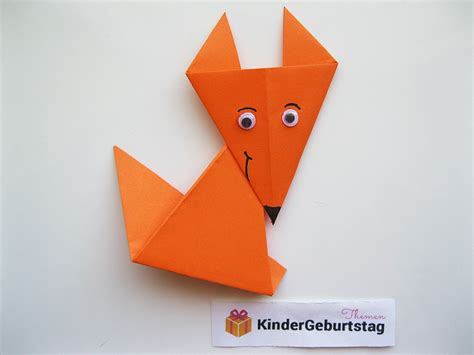 origami fuchs anleitung fuchs basteln anleitung f 252 r origami fuchs