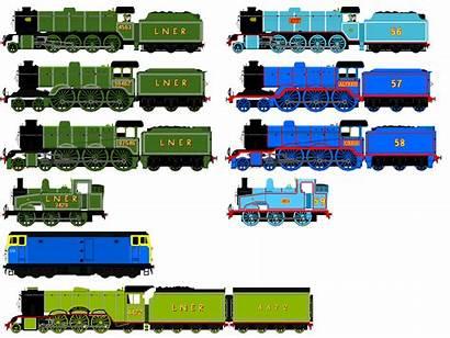 Railway Jamesfan1991 Deviantart Engines Favourites
