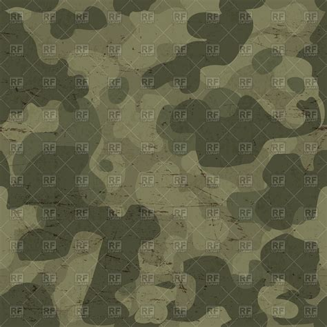 seamless scratched camouflage pattern military