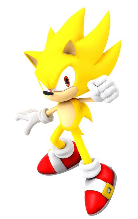 Sonic The Hedgehog Hd Wallpaper Super Sonic Render By Kamtheman56 On Deviantart