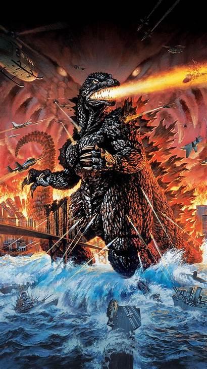 Godzilla 2000 Millennium Wallpapers Phone 1999 Mothra