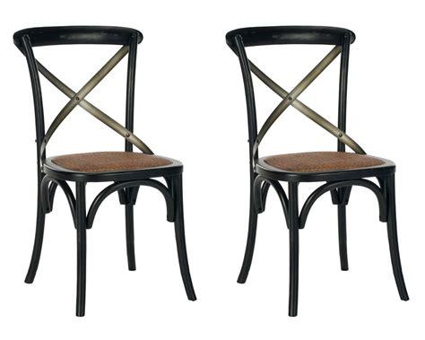 safavieh furniture amh9501b set2 dining chairs furniture by safavieh
