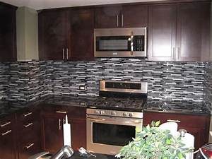 DS Tile and Stone Installations: Amazing glass backsplash