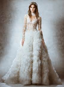 dresses for a fall wedding zuhair murad 2015 fall bridal wedding dresses photos