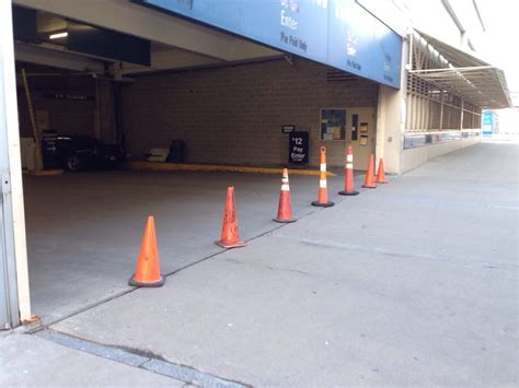 Gateway East Parking Garage by They Ll Someone Here Early To Setup The Cones But