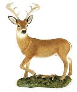 whitetail deer figurine country artists collectibles ebay