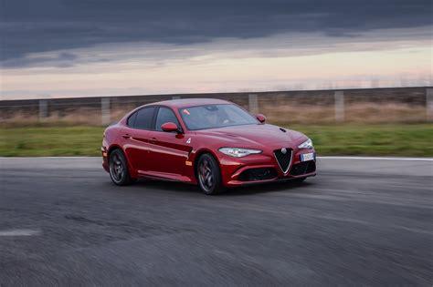 Alfa Romeo Giulia Quadrifoglio Crashes Right Next To