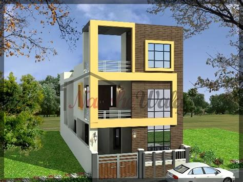 Small House Front View Design