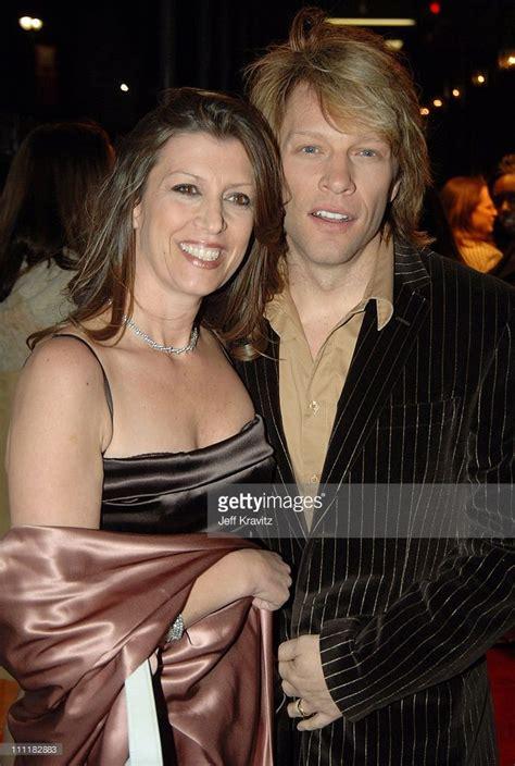 Dorothea Hurley Jon Bon Jovi During Annual Rock