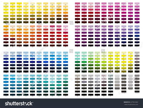 color reference color reference illustration shades 100 cool stock