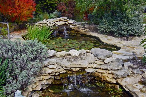 waterfalls for fish ponds water features gallery masterscapes 174