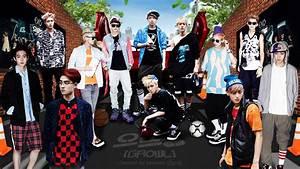 EXO Growl Teaser Dekstop Wallpaper HD Background   exo ...
