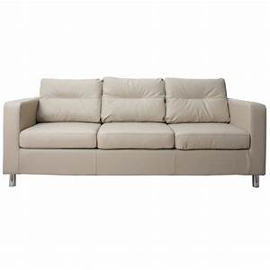 Star 3 seater faux leather sofa next day delivery star 3 for Faux leather sofa