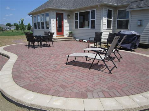 patio design brick paver paver patio design ideas