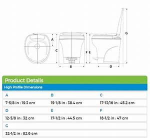 Thetford 31672 Aqua-magic V High Profile Rv Toilet