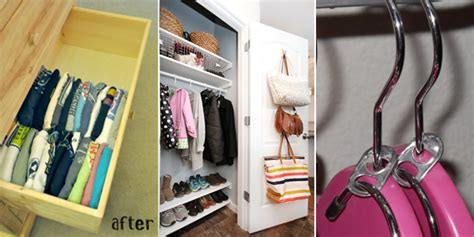15 awesome organizing hacks for your tiny closet