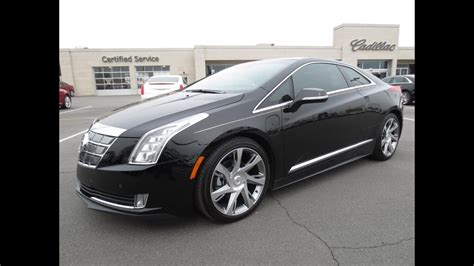 cadillac elr start  test drive   depth