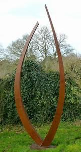 Sculpture De Jardin Contemporaine : nouvelle piece sculpture d 39 exterieur gil s sculpteur m tal acier inox art sculpture ~ Carolinahurricanesstore.com Idées de Décoration
