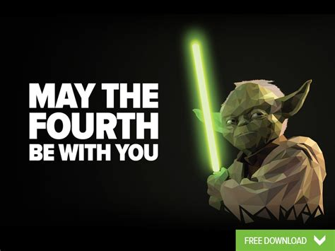 May The Fourth Be With You - Wallpaper by Peter Spencer on ...