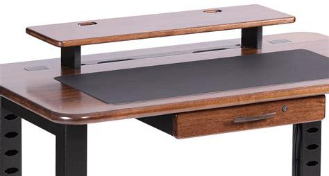 black walnut desk top loft desktop riser shelf black walnut caretta workspace