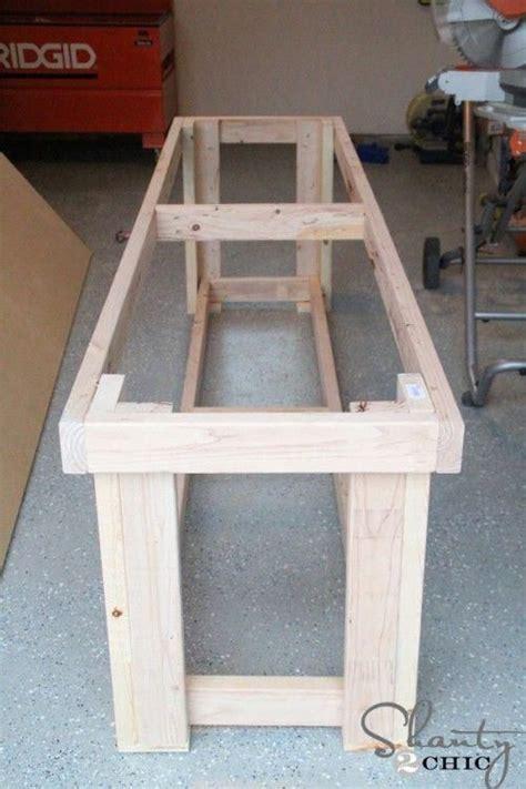 diy workbench  plans woodworkingplansanawhite