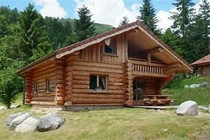 Maison En Rondin : ecobe09 ~ Melissatoandfro.com Idées de Décoration