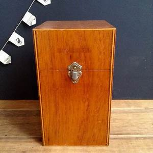 Boite Archive Deco : ancienne boite archives en bois industriel atelier loft usine vintage ~ Teatrodelosmanantiales.com Idées de Décoration