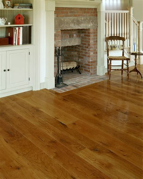White Oak in a Traditional Style Living Room