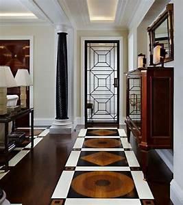 photo idee de porte d39entree une porte graphique pour With art deco interior adalah
