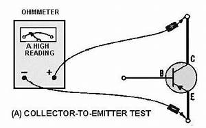 transistor junction resistance test With transistor tester