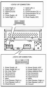 Toyota A56817 Head Unit Pinout Diagram   Pinoutguide Com