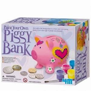 Loisirs Créatifs Enfants : tirelire cochon peindre ~ Melissatoandfro.com Idées de Décoration