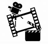 Coloring Cinema Coloringcrew sketch template