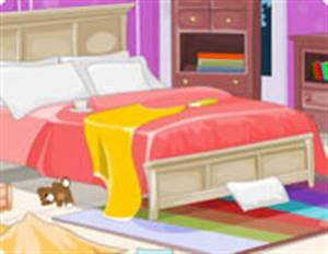 Frozen Anna Bedroom Cleaning Game - Free online flash ...