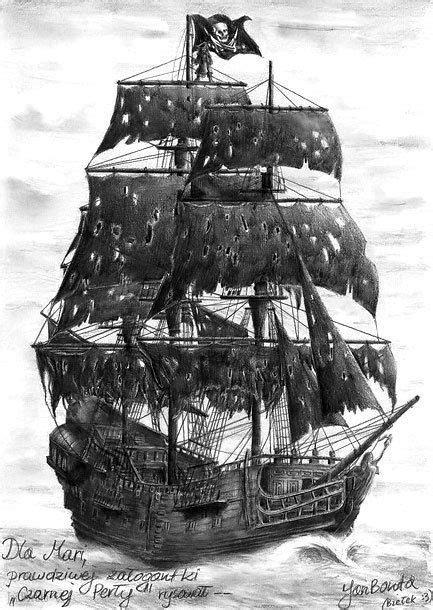 Black Pearl Tattoo Design   Pirate ship tattoos