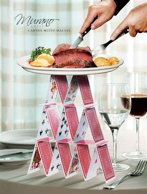 cuisine ad 20 creative and eye catching restaurant ads clear designs