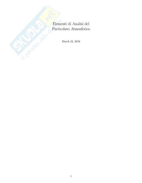 chimica analitica dispense analisi quantitativa e termodinamica chimica dispense