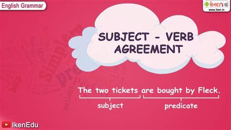 learn english grammar subject verb agreement youtube