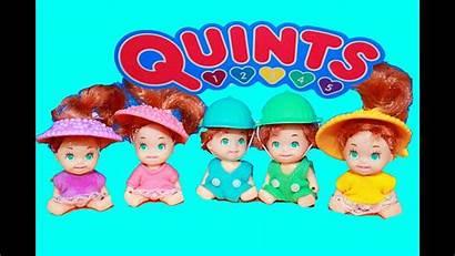 Dolls Toys Quints Babies 90s Popular Rare