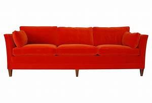 orange velvet down sofa With orange velvet sectional sofa