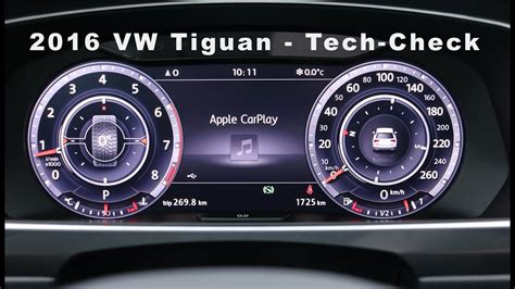 2016 vw tiguan tech check infotainment system carplay r 252 ckfahrkamera 3d view