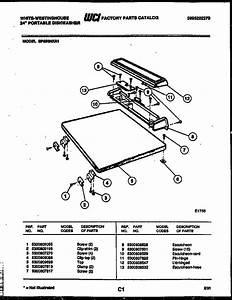 White-westinghouse 24 U0026quot  Portable Dishwasher