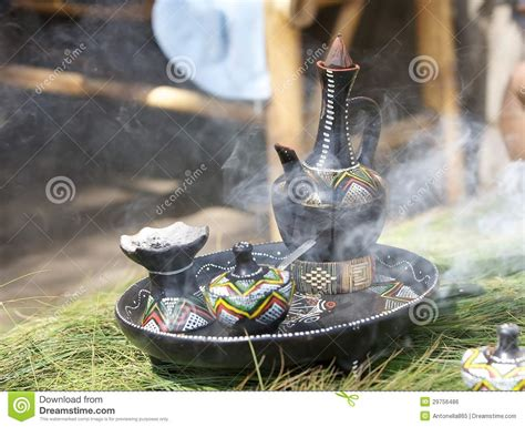 Traditional Ethiopian Coffee Pot Royalty Free Stock Image   Image: 29756486
